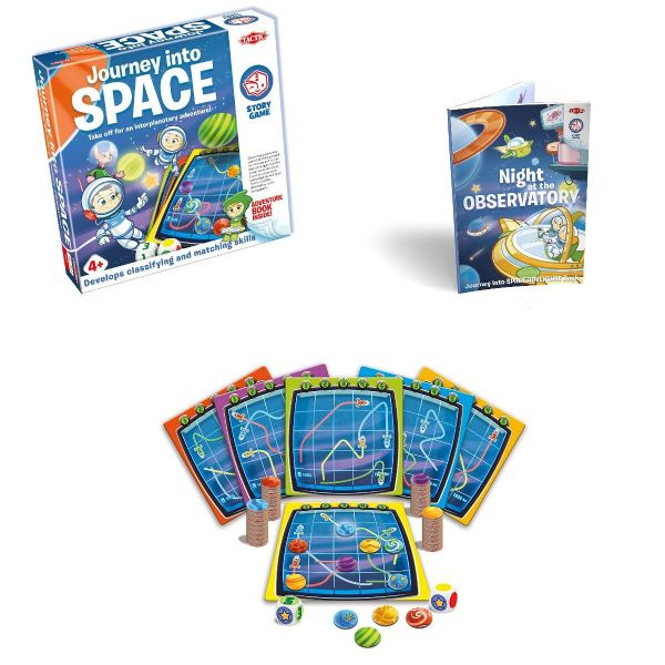 Journey into Space - Story Game - Family - Kids Board Game By Tactic Games